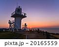 長崎県平戸市生月島 大バエ灯台の夕暮れ 20165559