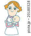 赤ちゃん 抱っこ ベクターのイラスト 20180328