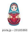 マトリョーシカ お人形さん 人形のイラスト 20185860