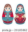 マトリョーシカ お人形さん 人形のイラスト 20185862