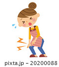 膝 主婦 女性のイラスト 20200088