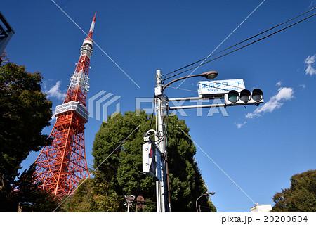 東京タワー下の交差点 20200604