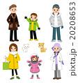 家族冬バージョン 20208653