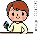子供 鉛筆 勉強のイラスト 20210062