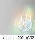 アブストラクト ベクター 回転のイラスト 20210332