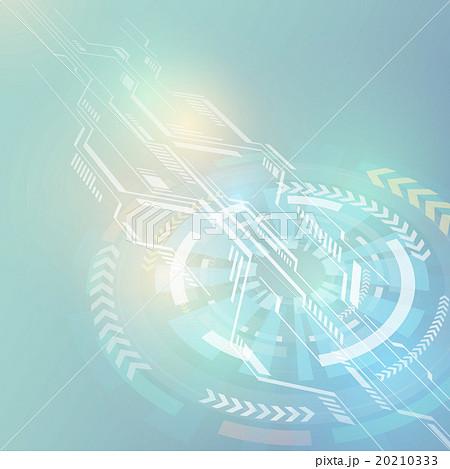 回転と集中 アブストラクトイメージ 20210333