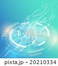 アブストラクト ベクター 回転のイラスト 20210334