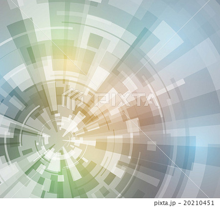 回転と集中 アブストラクトイメージ 20210451