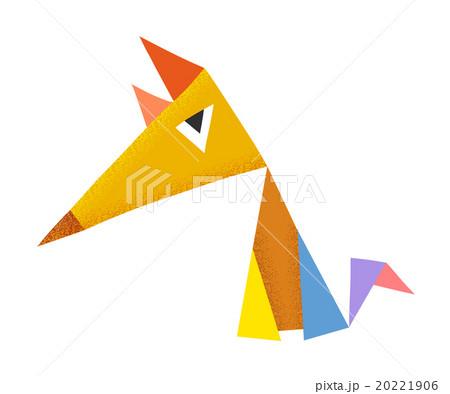 Geometric colorful foxのイラスト素材 [20221906] - PIXTA