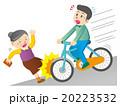 自転車の危険運転 20223532