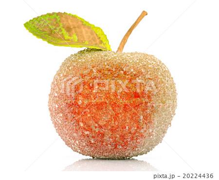 Christmas-tree decoration-glass appleの写真素材 [20224436] - PIXTA