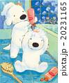 白犬_シャンプー 20231165