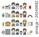 家族のセット【シンプルキャラ・シリーズ】 20240682