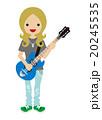 ギタリスト - 働く女性 20245535