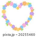 花 フレーム 枠のイラスト 20255460