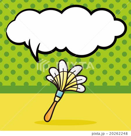 duster doodle, speech bubbleのイラスト素材 [20262248] - PIXTA
