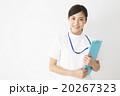 医療イメージ 白衣の若い女性看護師 20267323