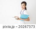 医療イメージ 白衣の若い女性看護師 20267373