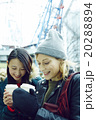日本人 外国人 女性の写真 20288894