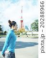 ランニングをする女性 20288966