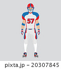 American football player 20307845