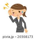 頭痛 ビジネスウーマン 20308173