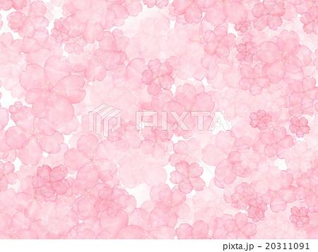 桜 模様 日本の春 和 手書き 水彩 壁紙 背景素材 背景イラスト 春の花 バックグラウンド 模様のイラスト素材