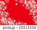 花 花柄 桜のイラスト 20313330