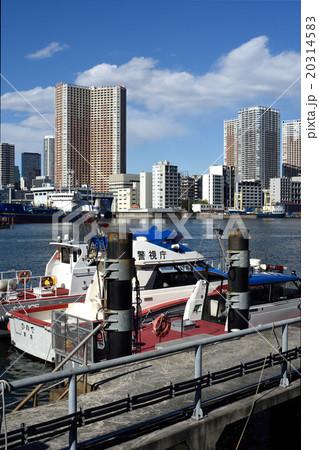 警視庁東京湾岸警察署の警備艇 20314583
