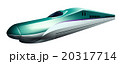 北海道新幹線のイラスト左向き 20317714