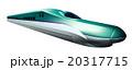 北海道新幹線のイラスト右向き 20317715