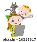 子供とタブレット 20318917