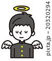 人物 ベクター 男子中学生のイラスト 20320294