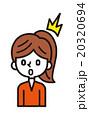 ベクター クリップアート 女性のイラスト 20320694