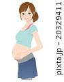 妊娠中の女性 妊婦 マタニティ 20329411