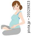妊娠中の女性 妊婦 マタニティ 20329923