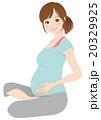 妊娠中の女性 妊婦 マタニティ 20329925