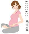 妊娠中の女性 妊婦 マタニティ 20329926