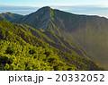 蝶ケ岳からの常念岳 20332052