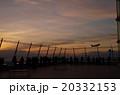 夕方のスカイデッキ 20332153