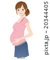 妊娠中の女性 妊婦 マタニティ 20344405