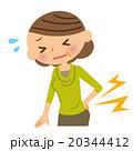腰痛 中年 女性 20344412