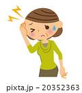 頭痛 中年 女性 20352363