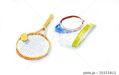 テニスのイラスト 20353813