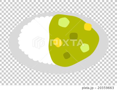 ข้าวปรุงในแกงเขียวหวาน 20359663