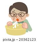 嘔吐するシニア男性 20362123