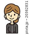 フォーマルな女性【シンプルキャラ・シリーズ】 20362831