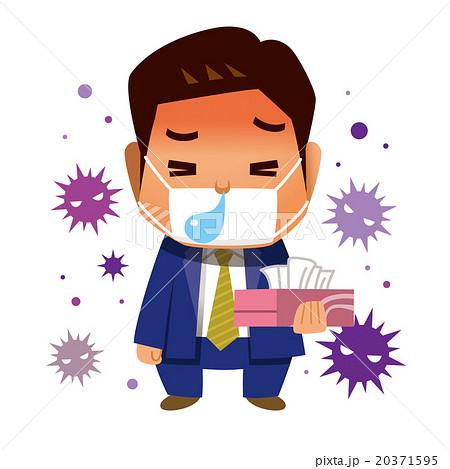 風邪が辛いビジネスマン 20371595