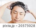 髪 洗髪 男性の写真 20373028