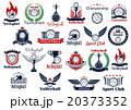 スポーツ ベクタ ベクターのイラスト 20373352